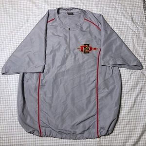 San Diego State Baseball Cage Jacket Pullover Nike